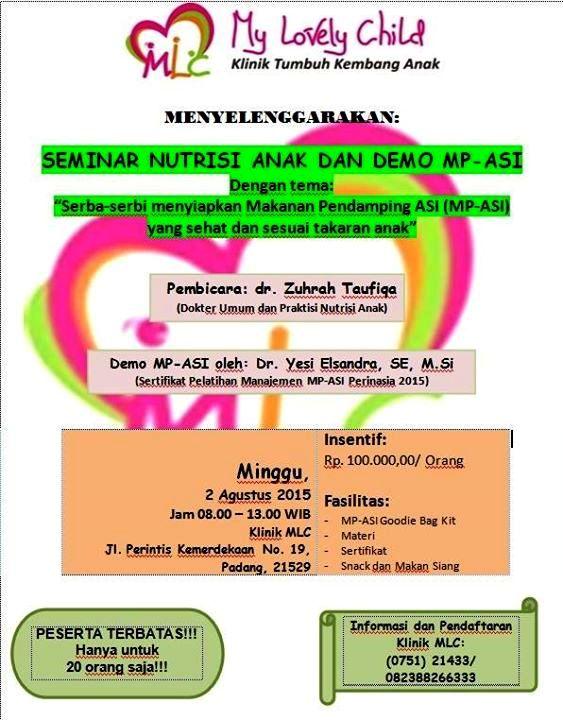 Seminar-Nutrisi-Anak-Demo-MP-ASI-My-Lovely-Child-Padang