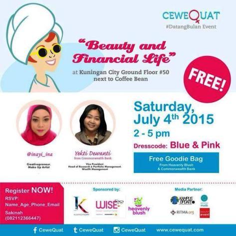 Talkshow-CeweQuat-#DatangBulan-Juli-Kuningan-City