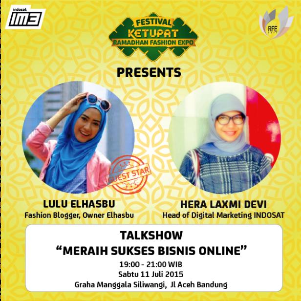 Talkshow-Ketupat-Indosat-Lulu-ElHasbu-Fashion-Ramadhan-Expo