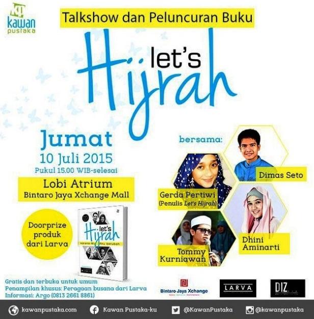 Talkshow-Peluncuran-Buku-Lets-Hijrah-Bintaro-Jaya-Xchange-Mall