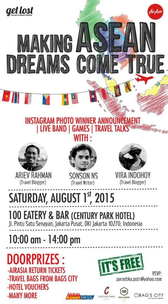 Talkshow-Travel-AirAsia-ASEAN-100-Eatery-Bar-Century-Writer-Blogger