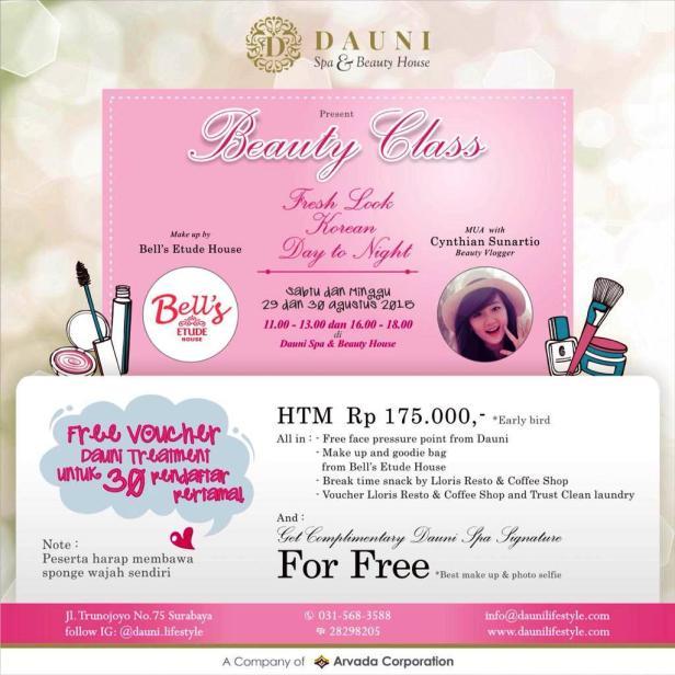 Beauty-Class-Dauni-Spa-Beauty-House-Surabaya