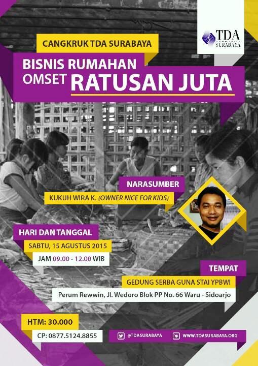 Cangkruk-TDA-Surabaya-Agustus-2015-Kukuh-Wira-K-STAI-YPBWI