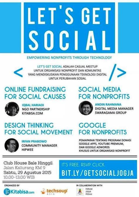 Casual-Meetup-Let's-Get-Social-Bale-Hinggil-Sleman-Kaliurang-Teknologi