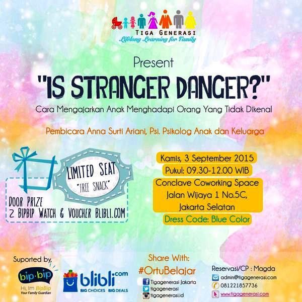 Diskusi-Parenting-Tiga-Generasi-Stranger-Danger-Talkshow-Seminar-Anna-Surti-Ariani-Conclave