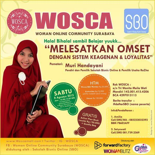 Halal-BiHalal-Women-Online-Comunity-Surabaya-Sekolah-Bisnis-Online-Spazio-Forward-Factory