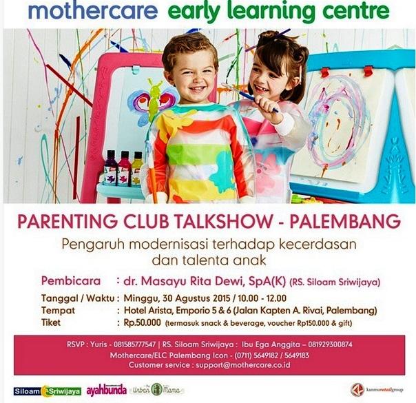 Mothercare-Parenting-Club-Talkshow-Palembang-Siloam-Sriwijaya-Arista
