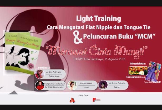 Peluncuran-Buku-Merawat-Cinta-Mungil-dr-Dini-Adityarini-TEKAPE-Surabaya