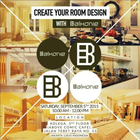 Room-Design-Balkonie-Comic-Cafe-Tebet