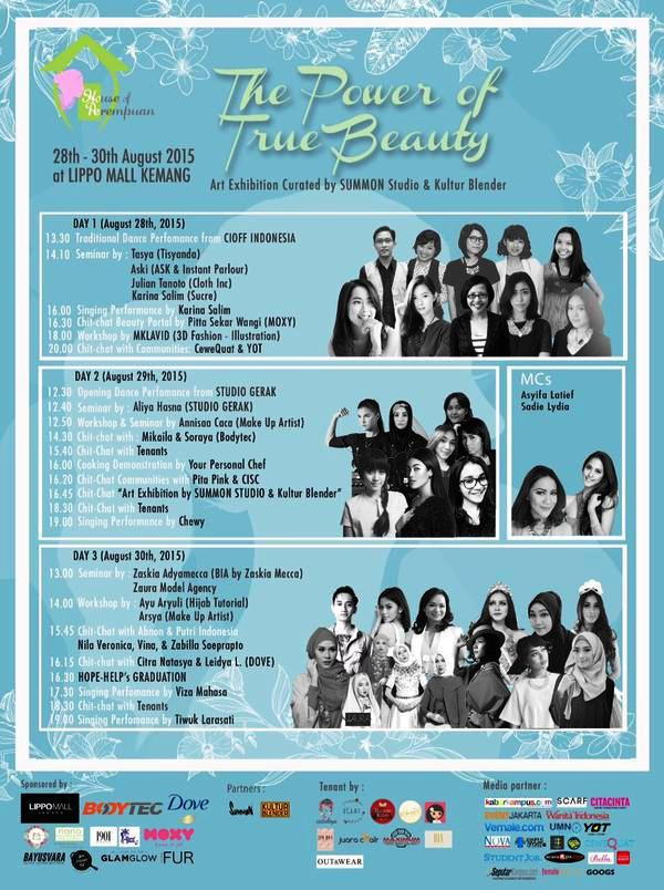 Rundown-The Power-Of-True-Beauty-Lippo-Mall-Kemang-House-Of-Perempuan