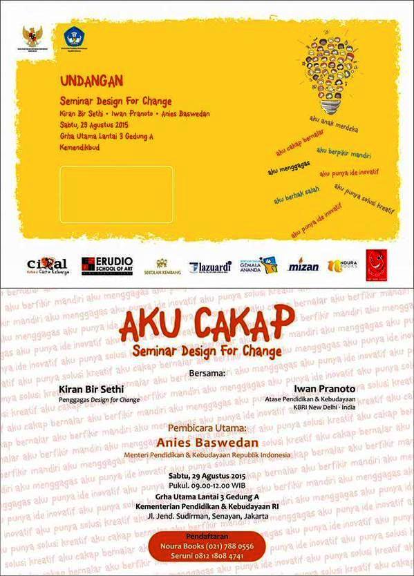 Seminar-Design-For-Change-AKU-CAKAP-Noura-Books