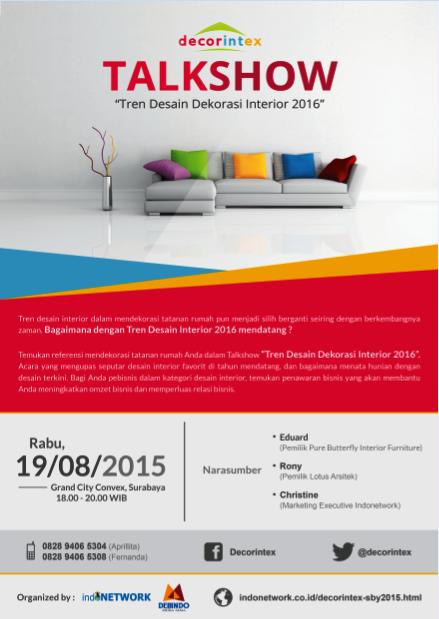 talkshow-Decorintex-Tren-Desain-Dekorasi-Interior