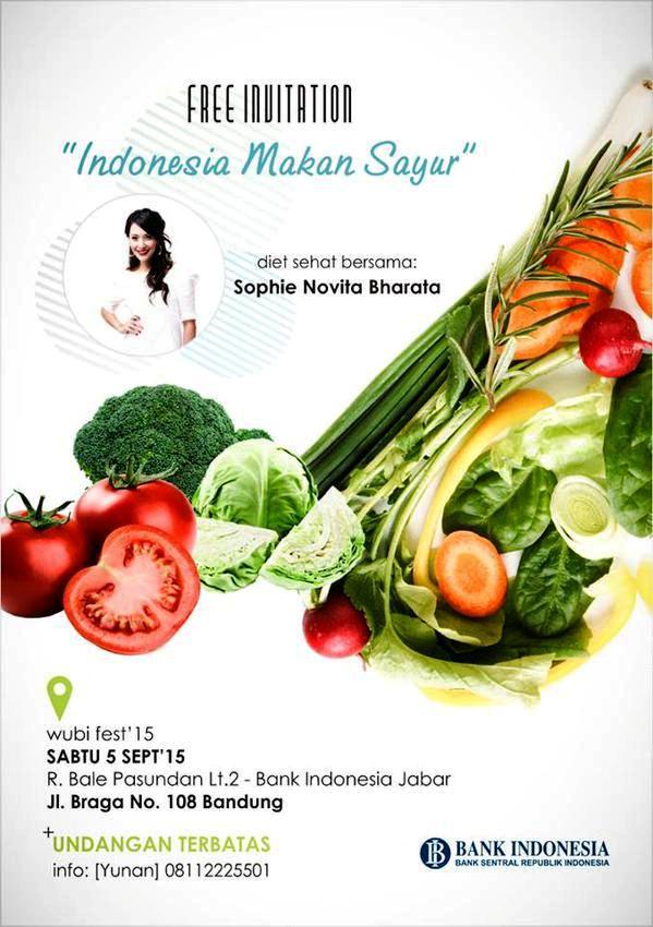 Talkshow-Indonesia-Makan-Sayur-Sophie-Novita-Bharata-Wubi-Festival-2015-Bank-Indonesia-Bandung