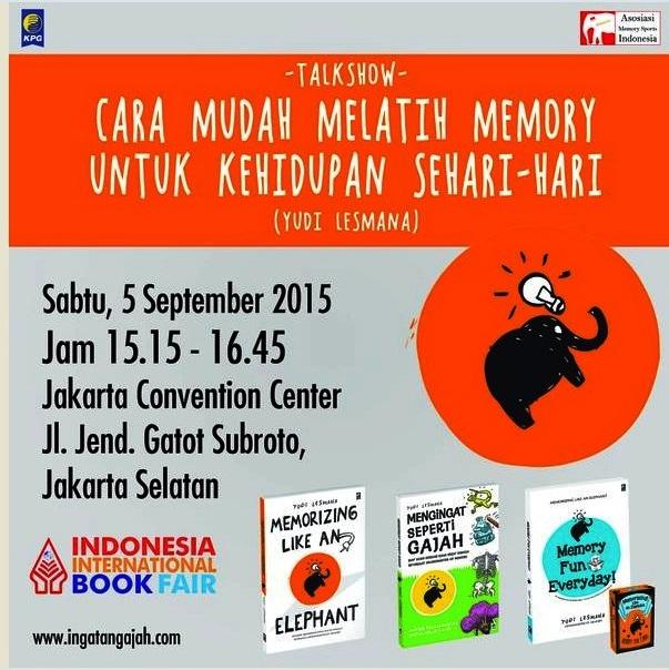 Talkshow-Indonesia-Memory-Sports-Association-ingatangajah.com-KPG-IIBF-2015