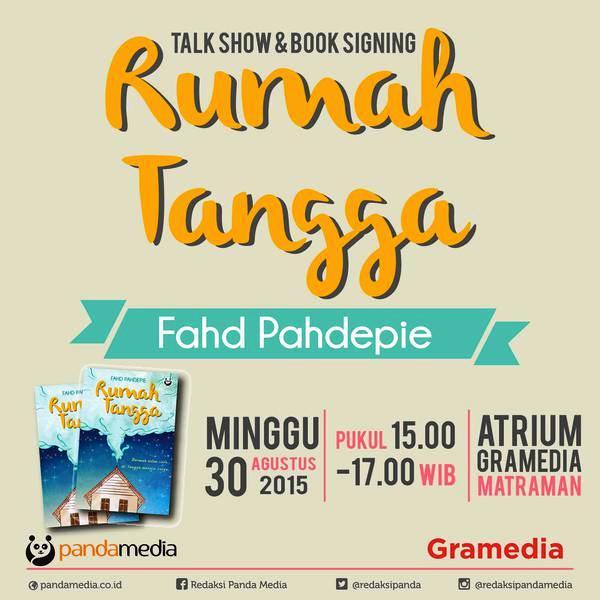 Talkshow-Panda-Media-Rumah-Tangga-Fahd-Pahdepie-Gramedia-Matrama