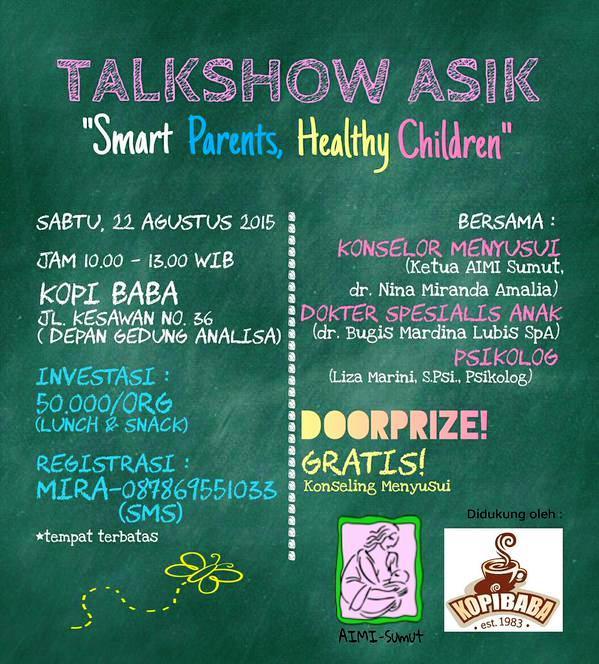 Talkshow-Parenting-AIMI-SUMUT-Medan-Kopi Baba