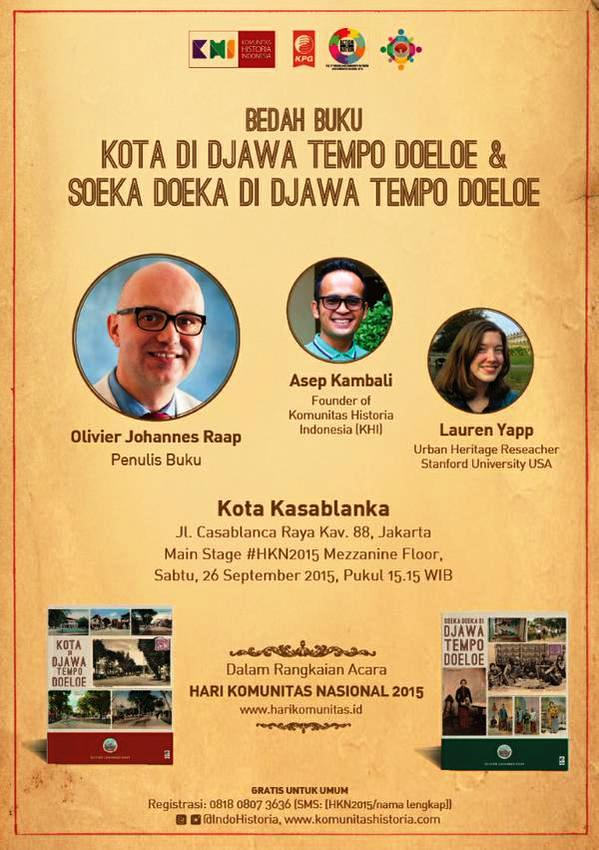Bedah-Buku-Komunitas-Historia-Indonesia-Hari-Nasional-Koeta-Di-Djawa-Tempo-Doeloe-&-Soeka-Doeka-Di-Djawa-Tempo-Doeloe