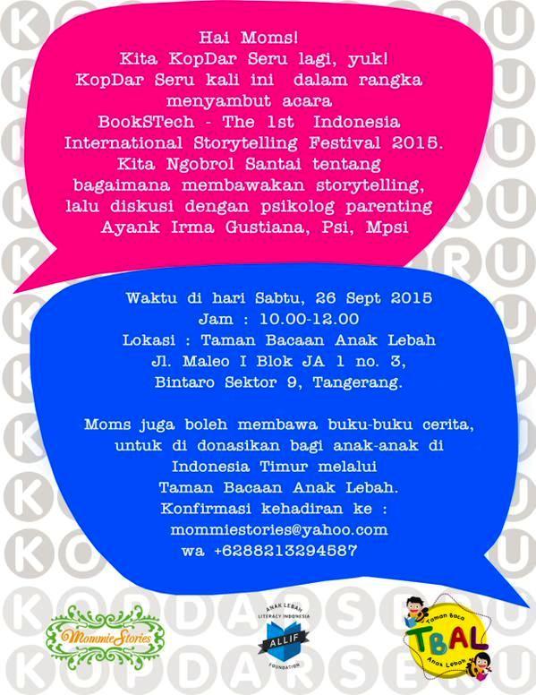 Kopdar-Seru-Mommie-Stories-BookSTech-Storytelling-Taman-Bacaan-Lebah-Bintaro