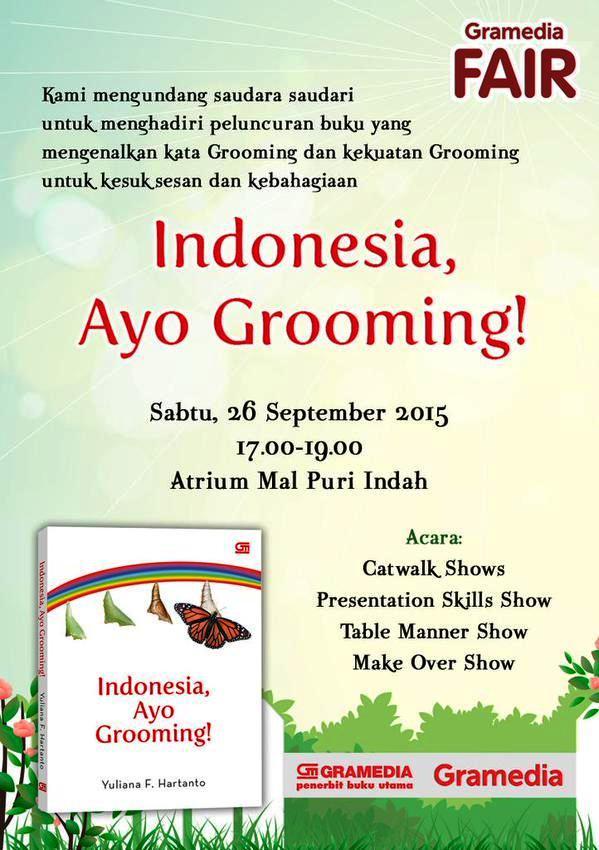 Peluncuran-Buku-Indonesia,-Ayo-Grooming!-Gramedia-Mall-Puri-Indah