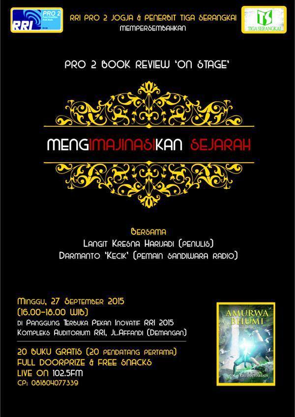 Pro-2-Book-Review-On-Stage-Jogjakarta-Yogyakarta-Langit-Kresna-Harijadi