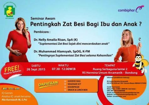 Seminar-Awam-Combiphar-Hermina-Bandung-Arcamanik-Zat-Besi-Anak-Hamil