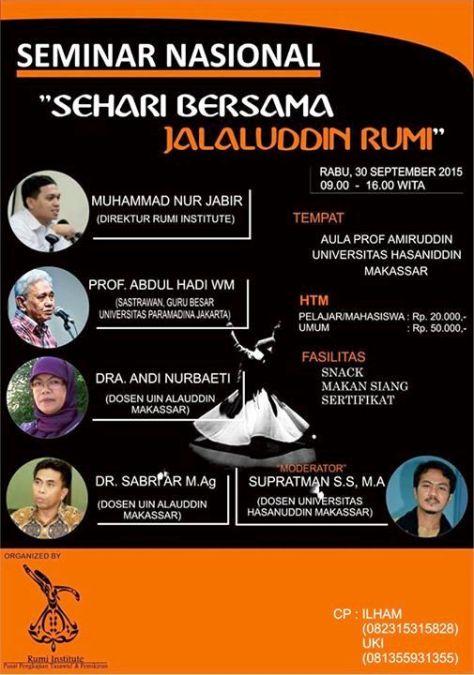 Seminar-Nasional-Hari-Rumi-Sedunia-Universitas-Hasanuddin-Makassar
