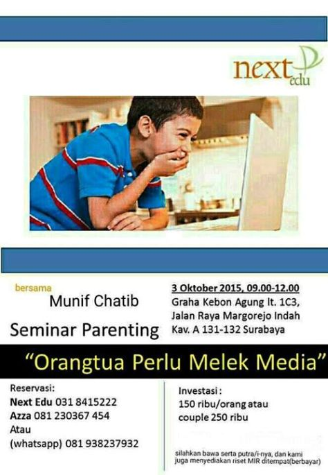 Seminar-Parenting-Next-Edu-Munif-Chatib-Surabaya