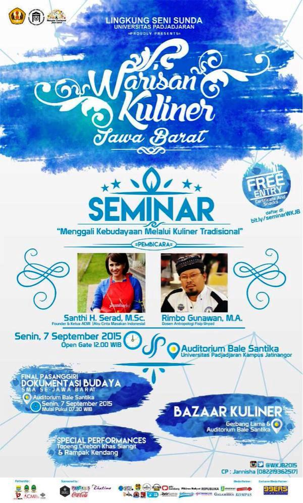 Seminar-Warisan-Kuliner-Jawa-Barat-UNPAD-ACMI-Bale-Santika-2015