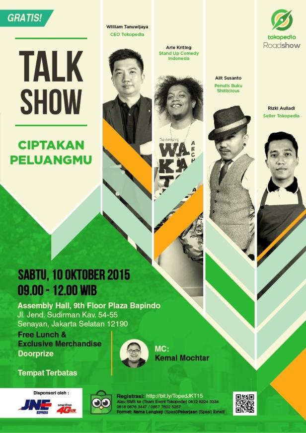Jakarta-Tokopedia-Roadshow-2015-Ciptakan-Peluangmu-Alit-Susanto