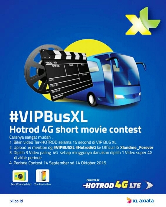 #VIPBusXL-Hotrod-4G-short-movie-contest