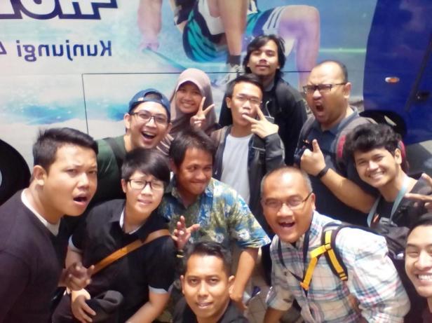 #VIPBUSXL -@XL123-blogger-wartawan