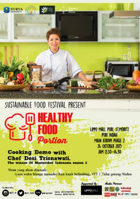 Desi-Trisnawati-Masterchef-Healthy-Food-Portion-Sustainable-Food-Festival-Lippo-Mall-Puri-Oktober