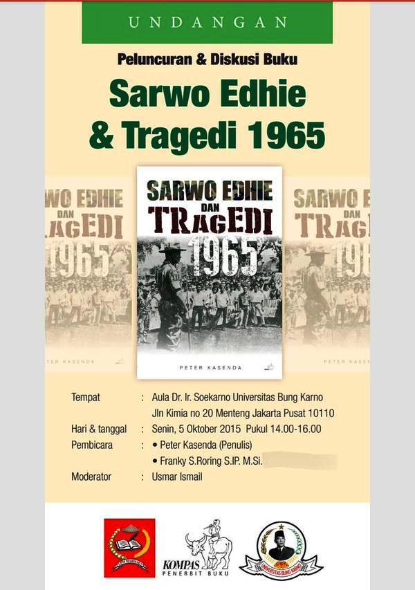 Diskusi-Buku-Sarwo-Edhie-Tragedi-1965-Peter-Kasenda-Universitas-Bung-Karno