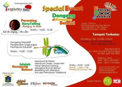 Festival-Dongeng-Jakarta-Oktober-2015-Setu-Babakan-Perkampungan-Budaya-Betawi-Parenting-Storytelling-Jelajah