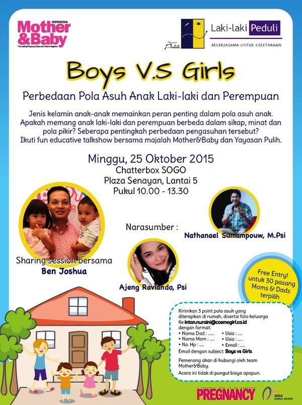 Fun-Educative-Talkshow-Boys-Girl-Mother-Baby-Pregnancy-Oktober-2015