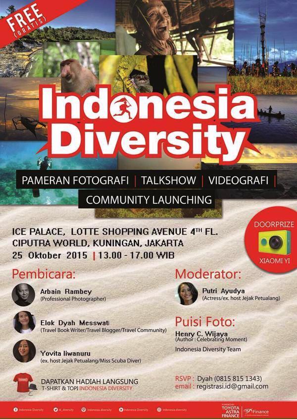 Indonesia-Diversity-Arbain-Rambey-Okotber-2015-Ice-Palace-Lotte-Shopping-Avenue