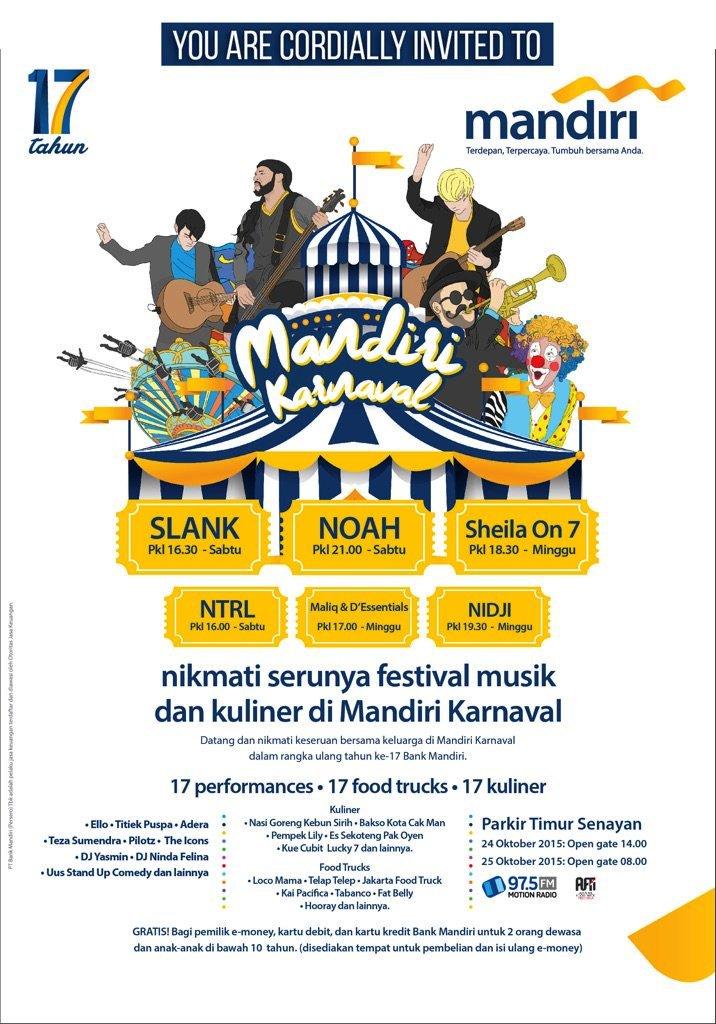 MANDIRI-Karnaval-2015-Parkir-Timur-Senayan.