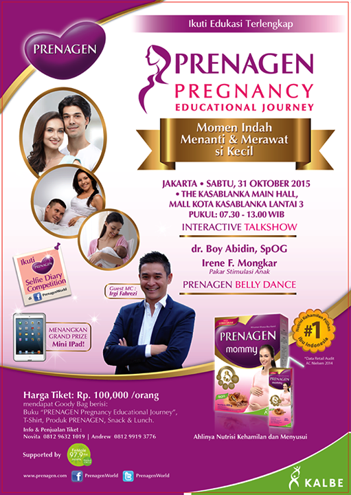 Prenagen-Pregnancy-Educational-Journey-Jakarta-Mall-Kota-Kasablanka-31-Oktober-2015