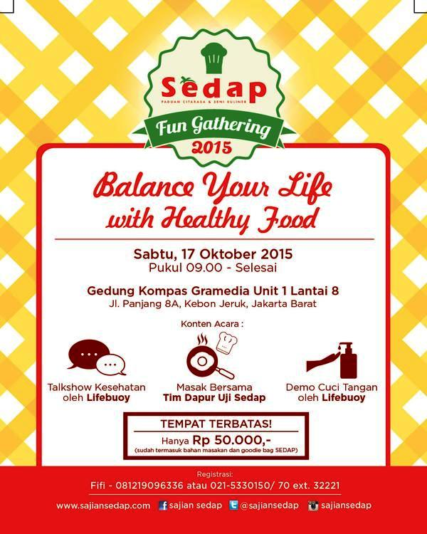 Sedap-Fun-Gathering-Oktober-2015-Gedung-Kompas-Gramedia
