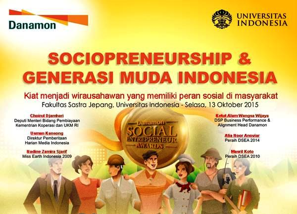 Seminar-Danamon-Awards-2015-SOCIOPRENEURSHIP-Wirausahawan-Sosial-UI-Depok