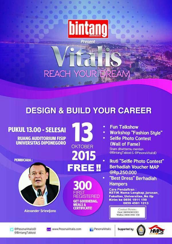 Talkshow-Bintang-Indonesia-Vitalis-Reach-Your-Dream-Universitas-Diponegoro-Semarang
