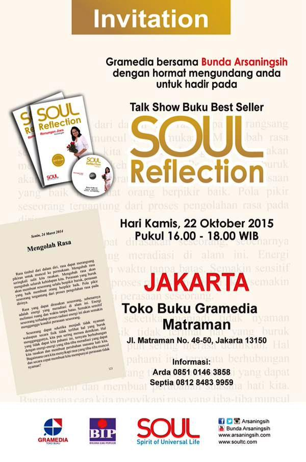 Talkshow-Buku-Soul-Reflection-Bunda-Arsaningsih-Oktober-2015