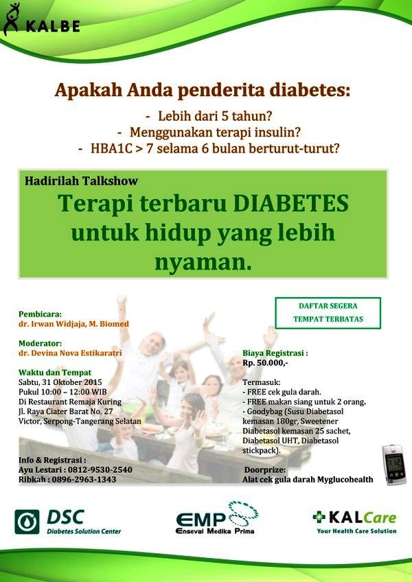 Talkshow-KALBE-DIABETES-Oktober-2015-KALcare-Remaja-Kuring