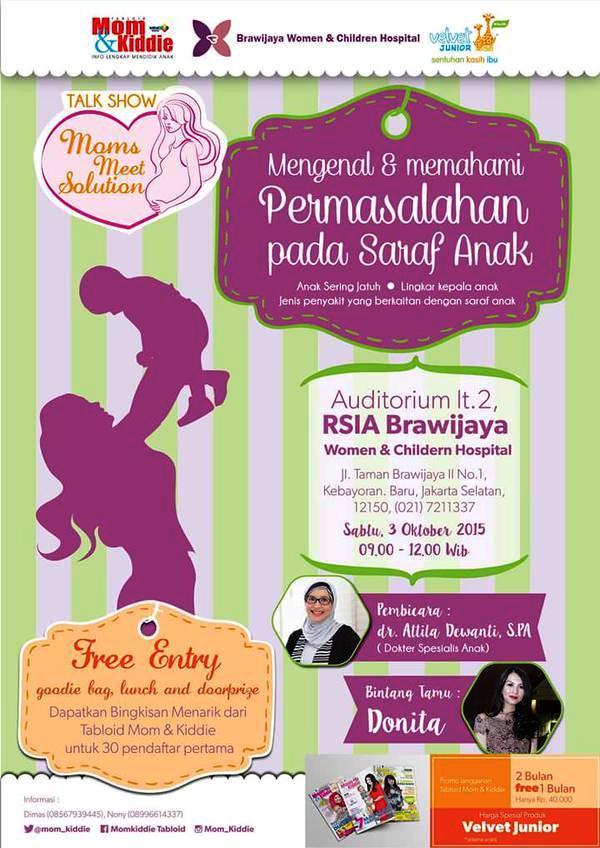 Talkshow-Moms-Meet-Solution-Oktober-2015-RSIA-Brawijaya
