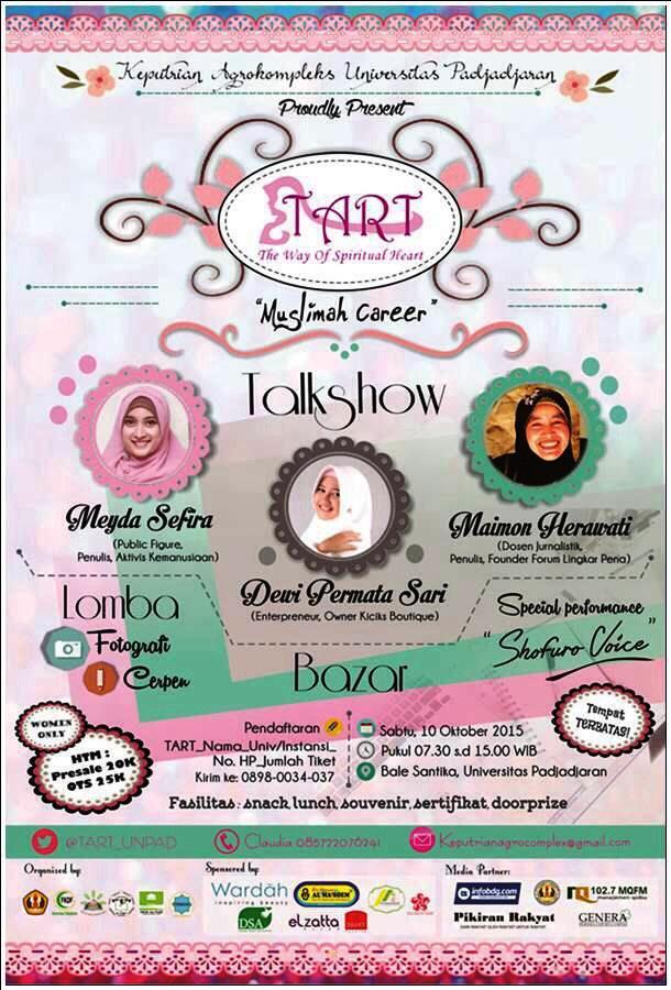 Talkshow-Muslimah-Career-Agrokompleks-Tart-Bale-Santika-Unpad-Meyda-Safira