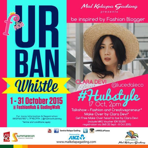 Talkshow-Urban-Whistle-Clara-Deci-Fashion-Hub-Mall-Kelapa-Gading-Creativepreneur