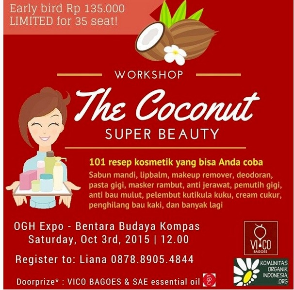 Workshop-Coconut-Super-Beauty-ORGANIC-GREEN-HEALTHY-Expo