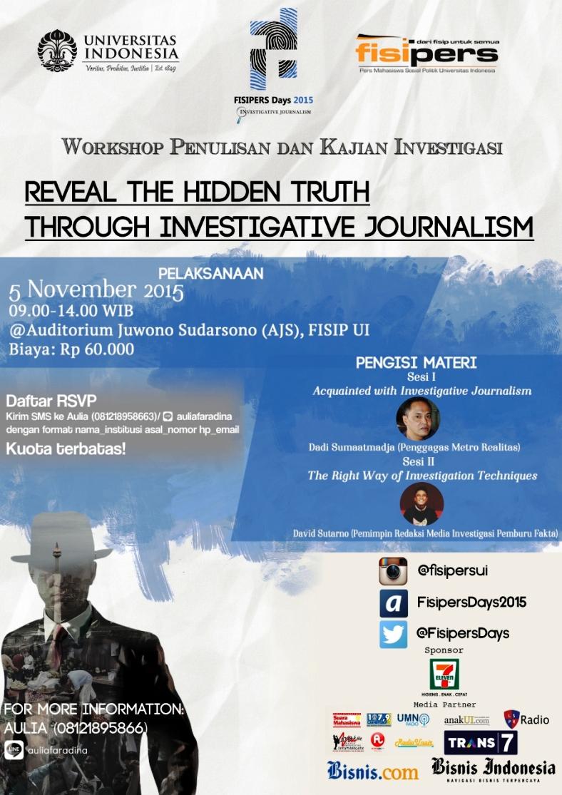 Workshop-Jurnalisme-Investigasi-fisip-ui-November-2015