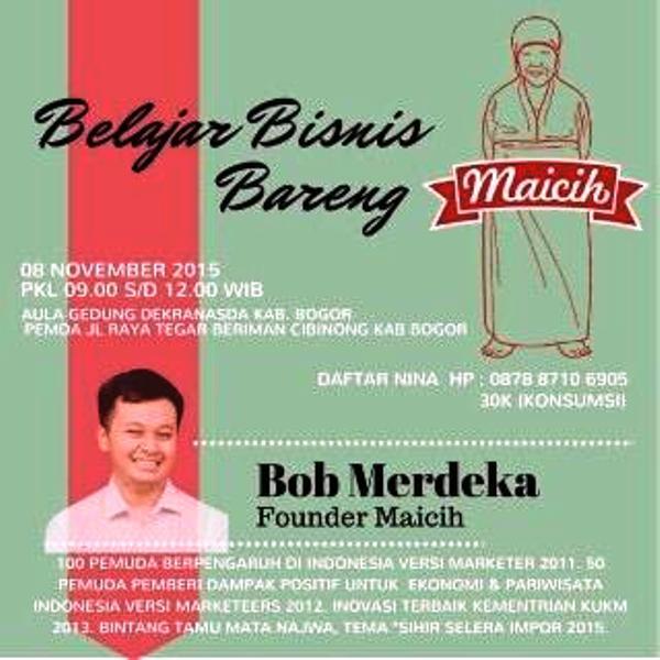 Belajar-Bisnis-Bareng-Maicih-Cibinong-Bogor-Dekranasda-November-2015