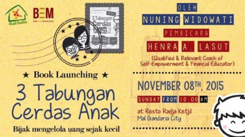Book-Launching-3-Tabungan-Anak-Cerdas-Radja-Ketjil-Nuning-Widowati-November-2015